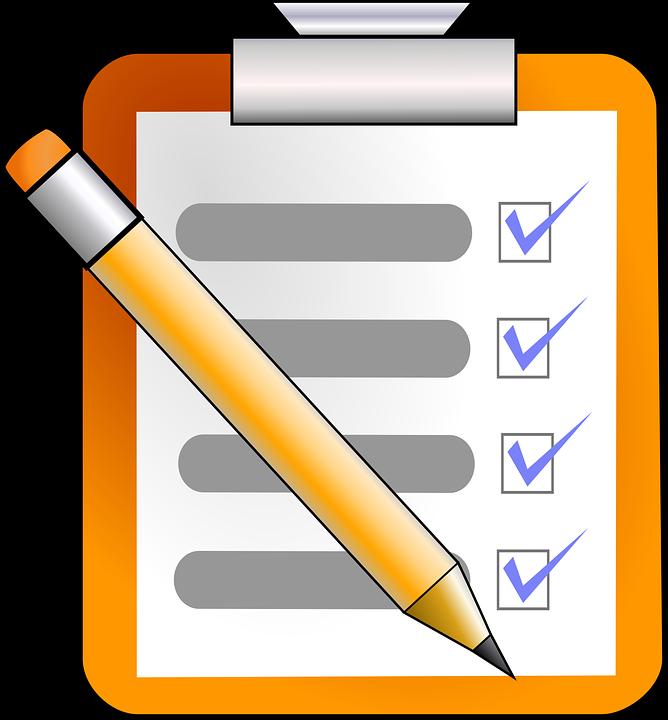 Checklist des choses à ne pas oublier avant de partir en vacances