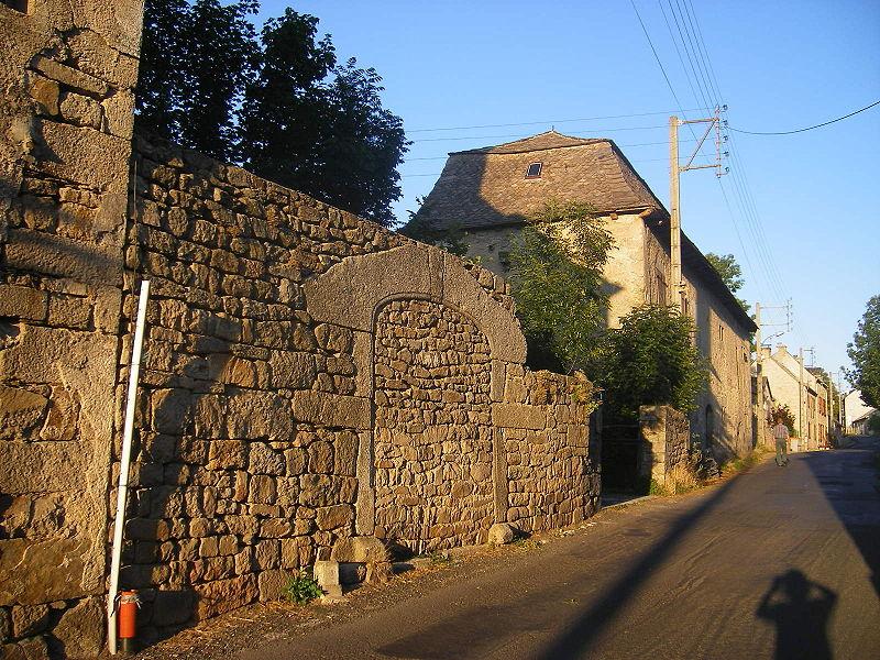 La ville d'Aumont-Aubrac