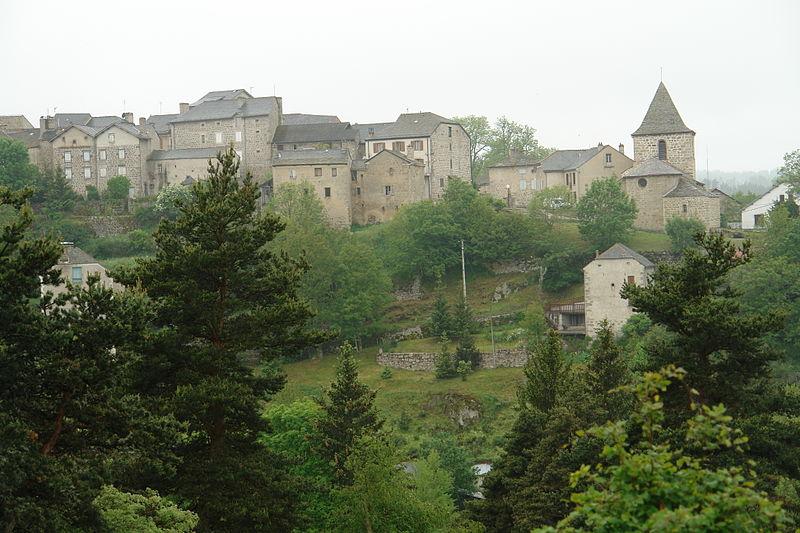 La ville de Grandrieu